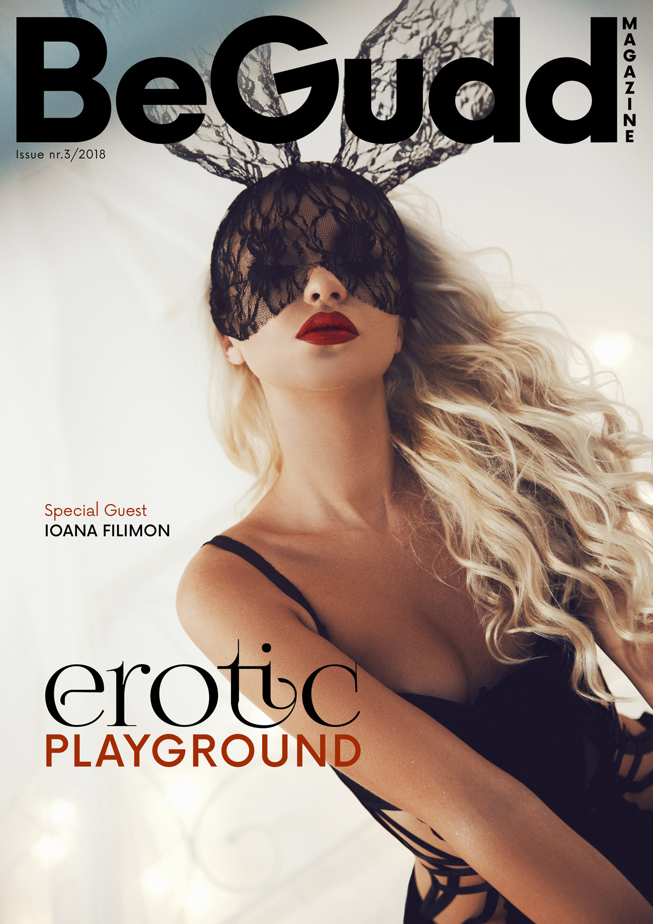 BeGudd magazine cover erotic glamour sexy free magazine issue 01