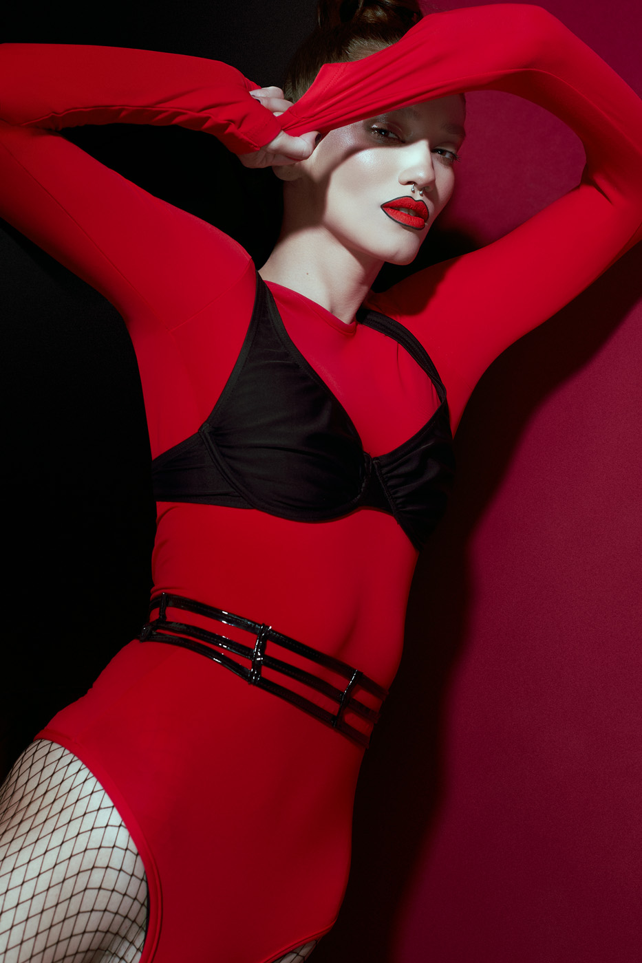 begudd magazine erotic latex fishnet editorial fashion cristina visterneanu daniel ilinca